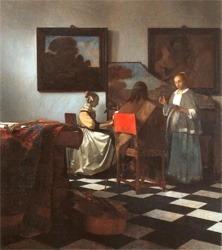 The Concert by Jan Vermeer - 1665/6