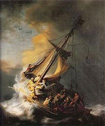 Christ in the Storm on the Sea of Galilee
